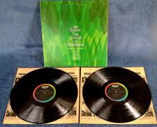 LES BAXTER - SOUNDS OF ADVENTURE - CAPITOL- 2 LP SET - BLACK LABEL, RAINBOW BAND