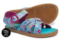 Western Chief Toddler Girls Sandals Quality Floral Print Size 8