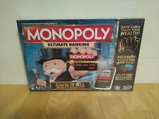 Monopoly Ultimate Banking Board Game Factory Sealed Hasbro 2015
