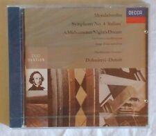 MENDELSSOHN - SYMPHONY NO.4 - DOHNANYI - DUTOIT - CD SIGILLATO (SEALED)