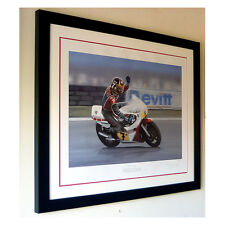 Barry Sheene – Limited edition artist proof signed print