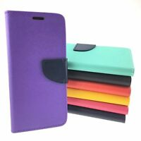 LG Stylo 3 PLUS Quality Leather Wallet Case with Kickstand and Credit Card Slots