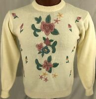 PXL Msrp $66 PL PM Alfred Dunner Madrid Colorblock Chenille Sweater Size PS