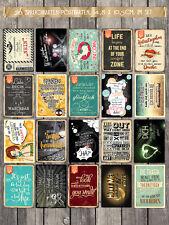 20 verschiedene Spruchkarten mit lustigen Sprüchen #3, Statements 10,5 x 14,8 cm