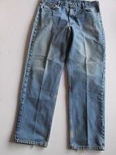 Carhartt  Blue Denim Fade Distress Look Relaxed Fit Jeans Men's 40 x 36 V38a