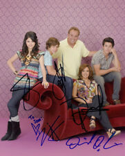 Wizards of Waverly Place (by all 5) signed authentic 8x10 photo COA