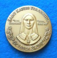 St. Kateri Tekakwitha Canonization - Garrison Garrow, a Mohawk artist - MUST SEE