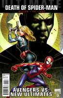 Avengers vs. New Ultimates #3  Marvel Comic Book Death of Spider-man Variant NM