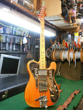1973 Fender Telecaster Custom Vintage Electric Guitar Natural Customized Country