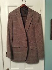 Vintage 100% Wool Men's Sport Jacket Size 42R