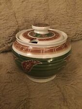 Welsh Dragon Pottery Rhayader Large Marmalade / Preserve Pot