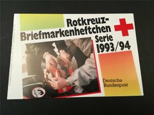 GERMANY BOOKLET 1993 RED CROSS CROIX ROUGE ROTES KREUZ h4956