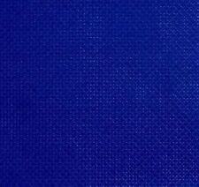 """59"""" X 1 Yard 14 count Royal blue Cotton Aida Cloth Cross Stitch Fabric"""