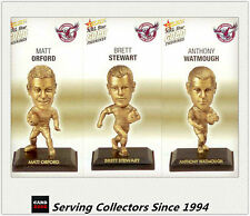 2008 Select NRL Gold Figurine Collectable Trading CARDS team Set Manly (3)