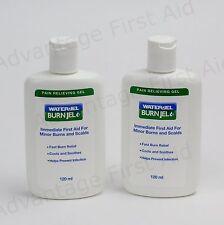 Water Jel Burn jel Squeeze Bottle Emergency Burn Care. Sunburn & Scalds. Qty 2
