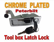 Latch Lock Kit - Tool Box (CHROME PLATED) Peterbilt 386 387 Models - C233213