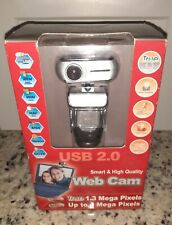 NEW Smart & High  quality WebCam Hi-Speed USB 2.0 True1.3 Mega Pixel