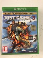 Just Cause 3 Xbox One  STEELBOOK ** New & Sealed** Game And Steel