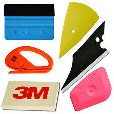 Car Wrapping Apply  Vinyl Tool Kit 3M Felt Squeegee Snitty Cutter 6 pieces tool