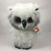 2020 TY Beanie Boos AUSTIN the White Owl Stuffed Animal Toy Plush (6 Inch) MWMTs