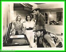 """MERLE OBERON, MABEL TODD & GARY COOPER in """"The Cowboy and the Lady"""" Origin. 1938"""