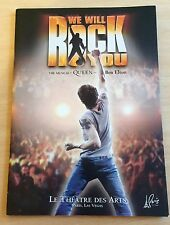 Queen - We Will Rock You The Musical PROGRAMME