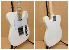 Haze Seg-287wh Full Size Telecaster Electric Guitar White Gig Bag-full Kit