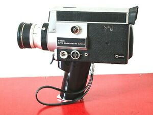 EXCELLENT Canon Auto Zoom 518SV Super 8 movie camera FREE SHIPPING WORLDWIDE