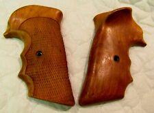 Fuzzy Farrant Lapd Cut Frame Left Hand Target Grips for Colt E/I Frame Vintage