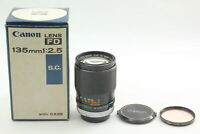 """[Exc+5 in Box]  Canon FD 135mm F/2.5 Rare """" O """" MF telephoto lens from Japan"""