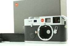 【MINT JAPAN MODEL IN BOX】 Leica M7 0.72 Silver Rangefinder Film Camera Japan