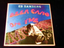 Ed Sanders - Beer Cans On The Moon - 1972 PROMO LP - SEALED - With Bio - Fugs!