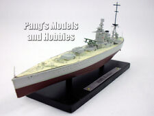 HMS Rodney (29) British Navy 1/1250 Scale Diecast Metal Model Ship by Atlas