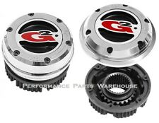 LOCKING 4-WHEEL DRIVE FRONT HUBS; 76-90 CHEVY GMC 1-TON, 90-93 DODGE 3/4-1 TON