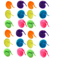 30pc Magic Worm Twisty Toys Wiggly Fuzzy Carnival Party Favor Worm On A String