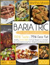 Bariatric Air Fryer Cookbook 2021  100% Taste - 75% Less Fat  Healthy,,,,,,,