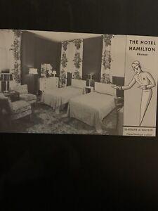 Illinois The Hotel Hamilton Chicago Deerborn Madison 300 Modern Rooms Bath (GA1)