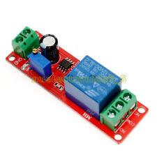 12V Delay Adjustable Timer NE555 Oscillator 0-10 Second Relay Switch Module