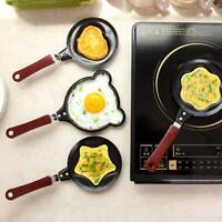 Non Stick Bear Face Eggs Pancake Frying Pan Mini Egg L6C0 Omelette U9R2