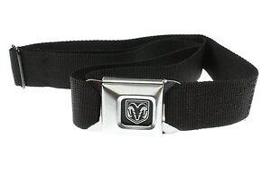 Authentic Black DODGE RAM Logo Seat Belt Buckle Belt Buckle-Down pants Seatbelt