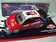CITROEN  XSARA  WRC  LOEB  MONTE  CARLO  2005   1/43  NEUVE  IXO  SERIE  PRESSE