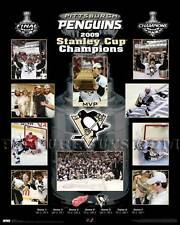 Pittsburgh Penguins 2009 Stanley Cup Championship Picture Plaque