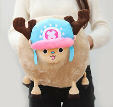 ONE PIECE TONY CHOPPER COSPLAY PLUSH CUSHION PILLOW HAND WARMER  GIFT