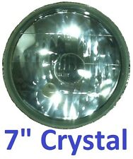 "1 JTX 7"" Crystal Beam Light MG MGA MGB Midget GT Semi Sealed All Rounder"