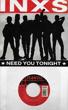 INXS  Need You Tonight / I'm Coming Home (nonalbum track) 45 with PicSleeve