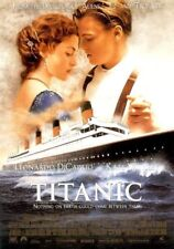 TITANIC MOVIE POSTER 2 Sided ORIGINAL Version B 27x40 LEONARDO DICAPRIO