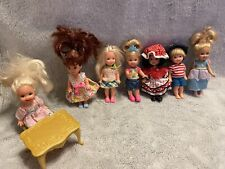 Barbie Kelly Tommy Vintage Doll Lot Of 7