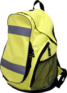 Majestic High Visibility Yellow Reflective Work Backpack, 8052, NEW, FREE SHIP