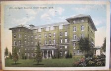 Michigan Postcard BLODGETT HOSPITAL Grand Rapids MI Heyboer Stationery Co 1921
