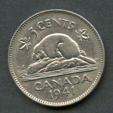 CANADA 1941  5 CENT COIN YOU DO THE GRADING HAVE FUN BIDDING